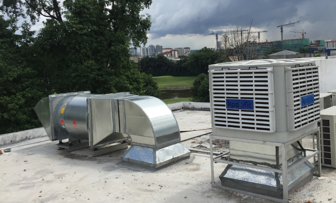 Kpacific Evaporative Air Cooler For Commercial Industrial